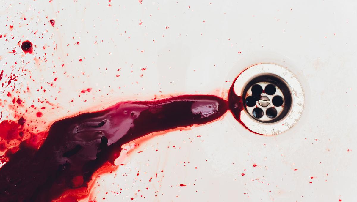 bloody drain