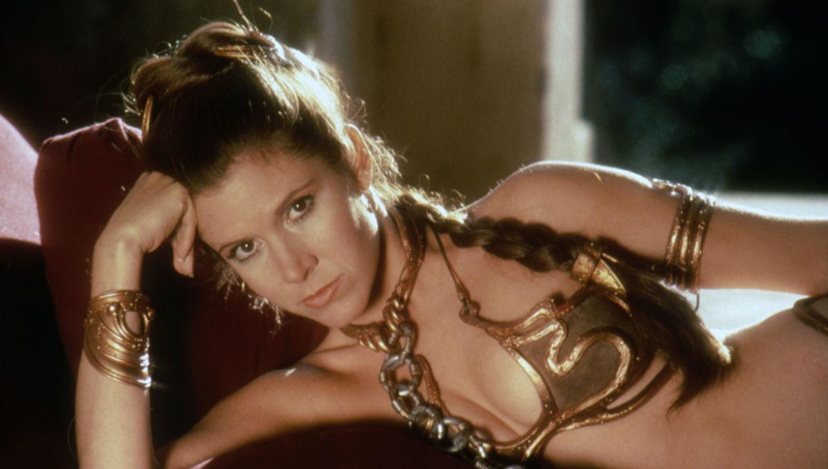Princess Leia Carrie Fisher Return of the Jedi