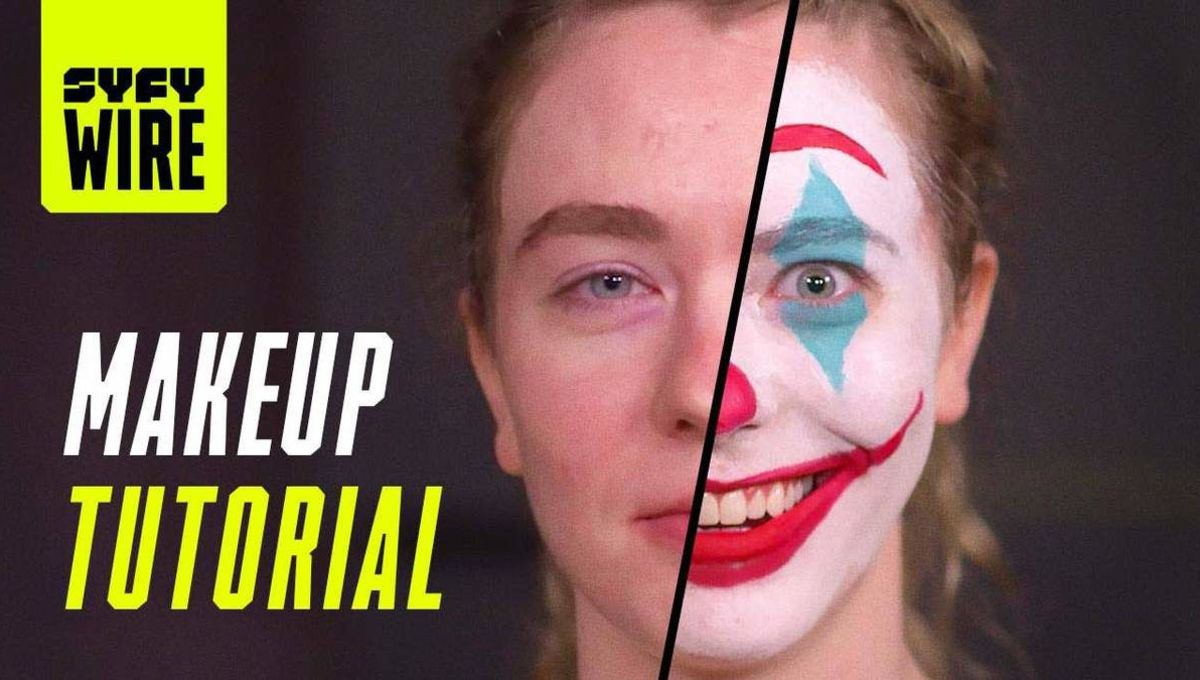 Joker makeup tutorial hero