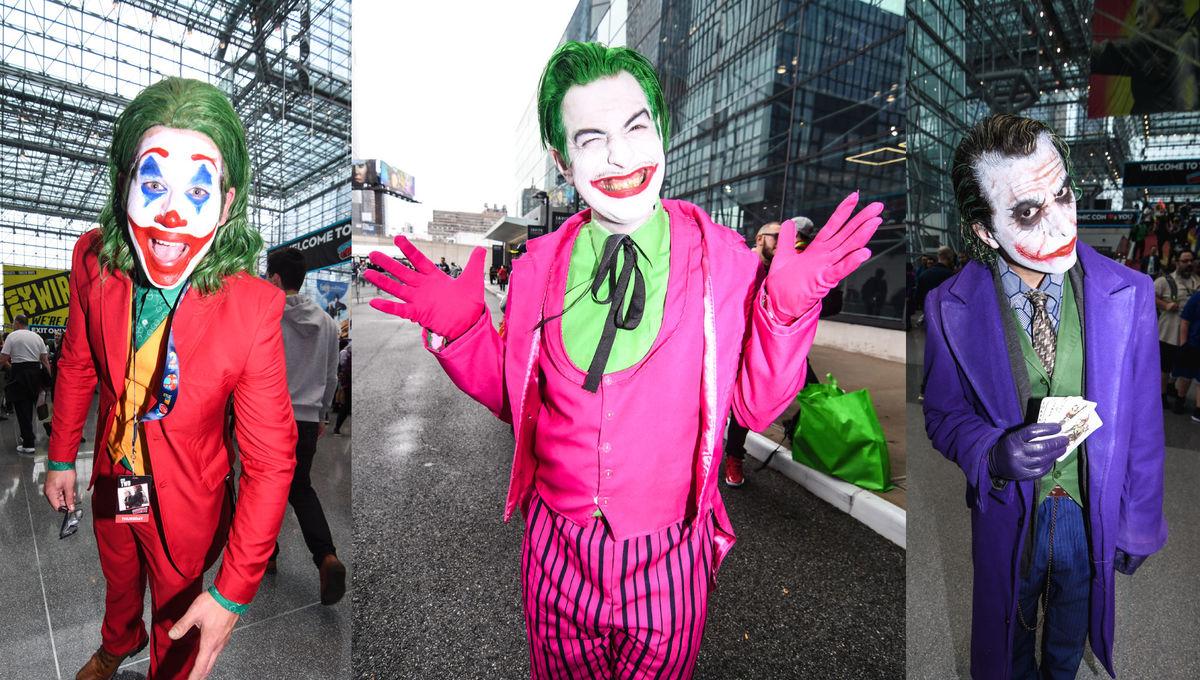Jokers at NYCC