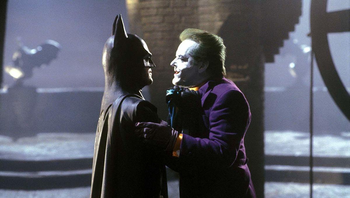 Batman - Michael Keaton Jack Nicholson