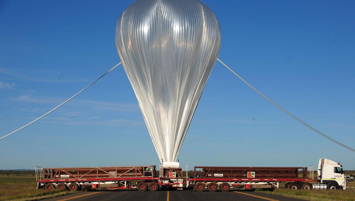 NASA space balloon prepares for launch