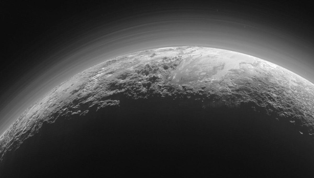 NASA image of Pluto