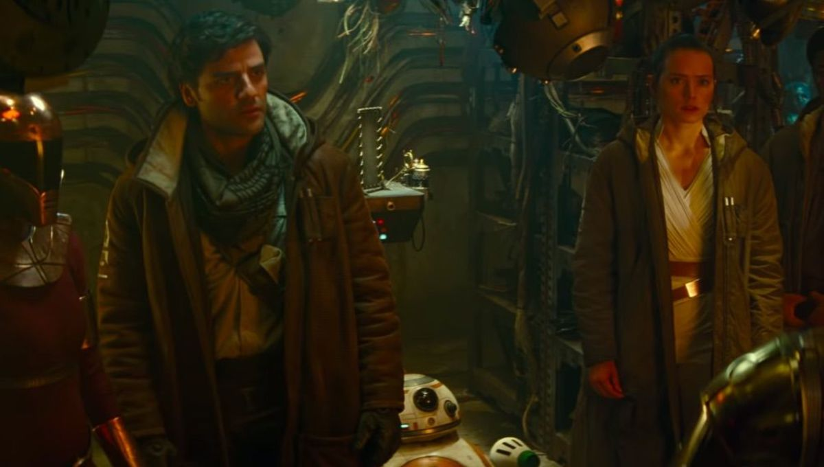 Poe Dameron and friends in The Rise of Skywalker
