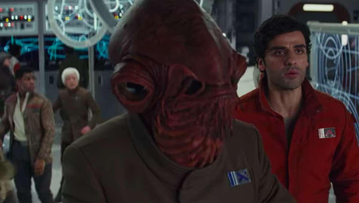 Admiral Ackbar The Last Jedi