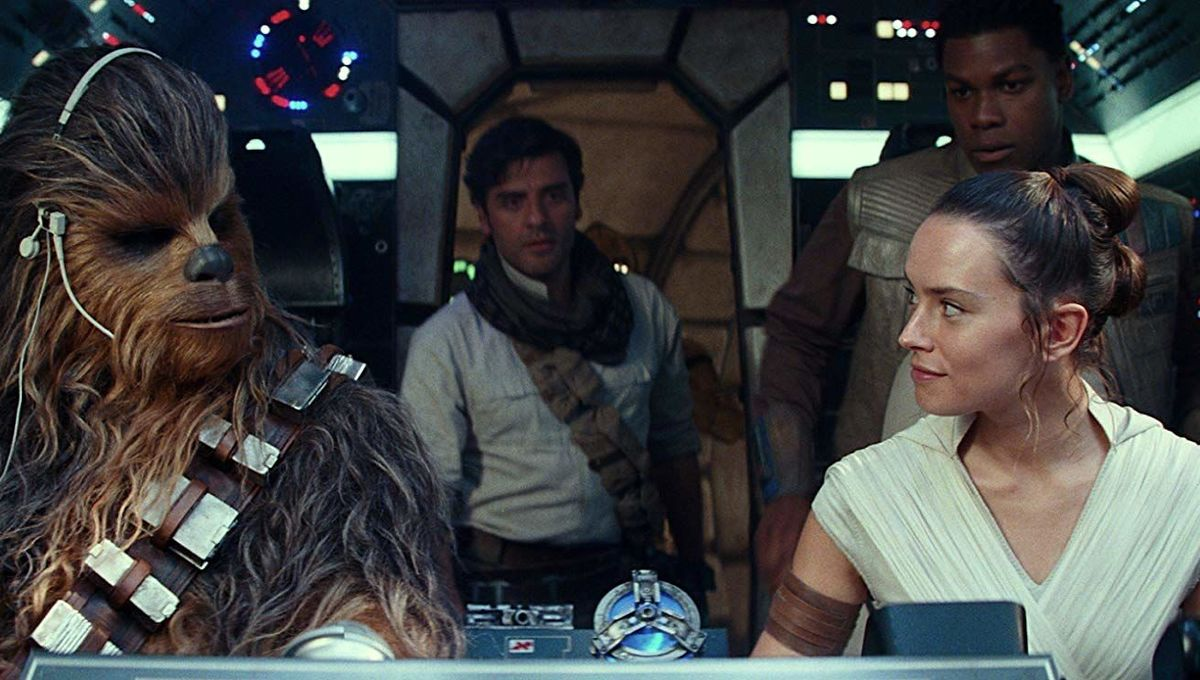 Star Wars The Rise of Skywalker cockpit