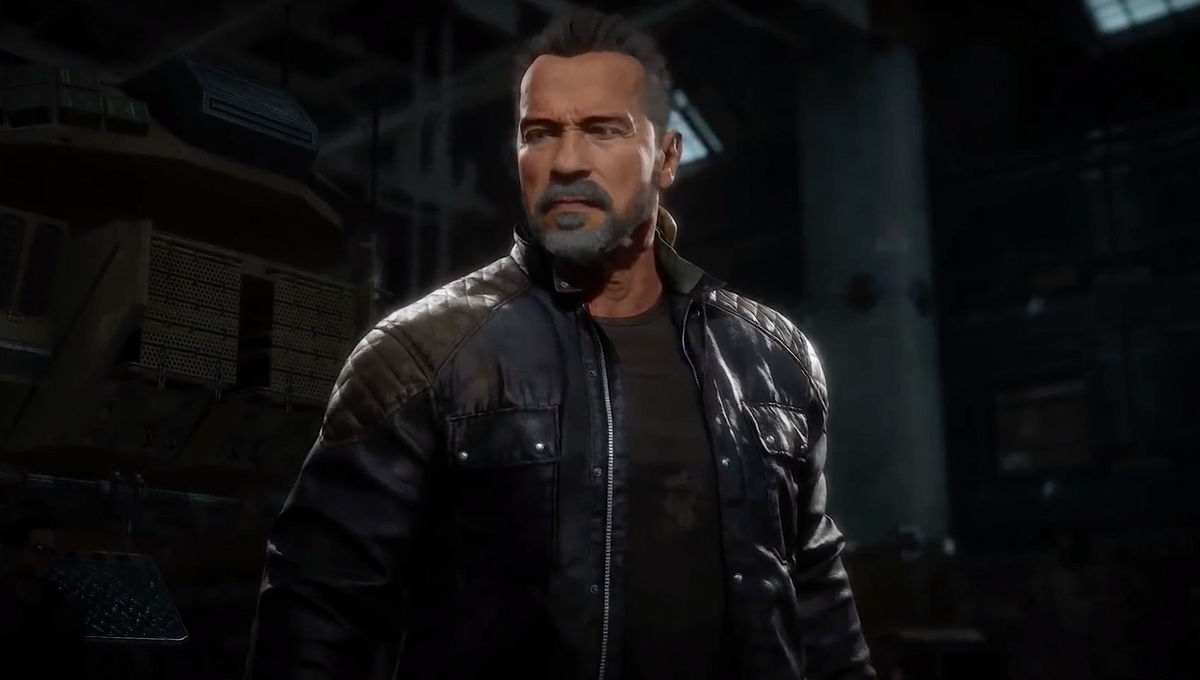 The Terminator in Mortal Kombat 11