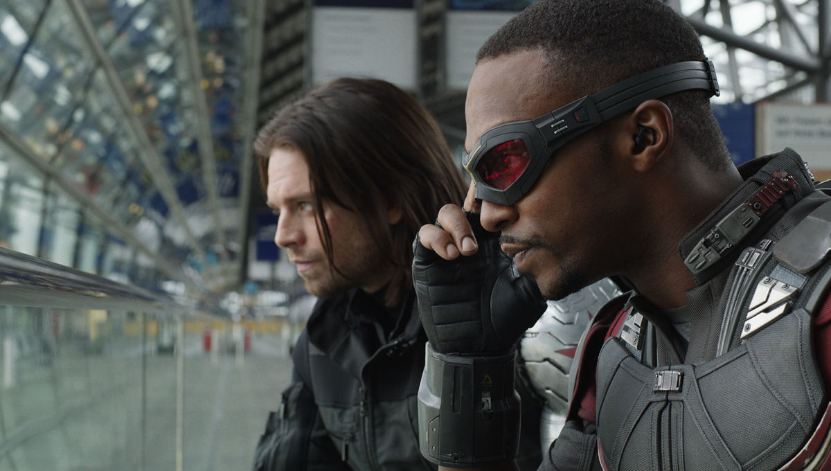 The Winter Soldier and Falcon
