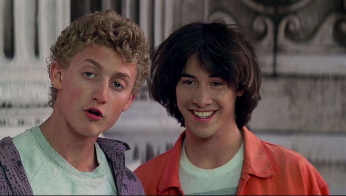 bill and ted socrates smile