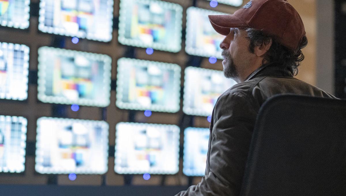 Tim Blake Nelson as Wade Tillman in HBO's Watchmen
