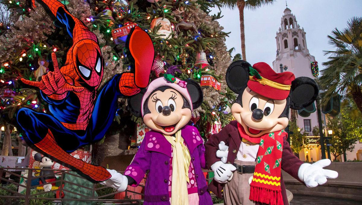 Disney Spider-man holiday