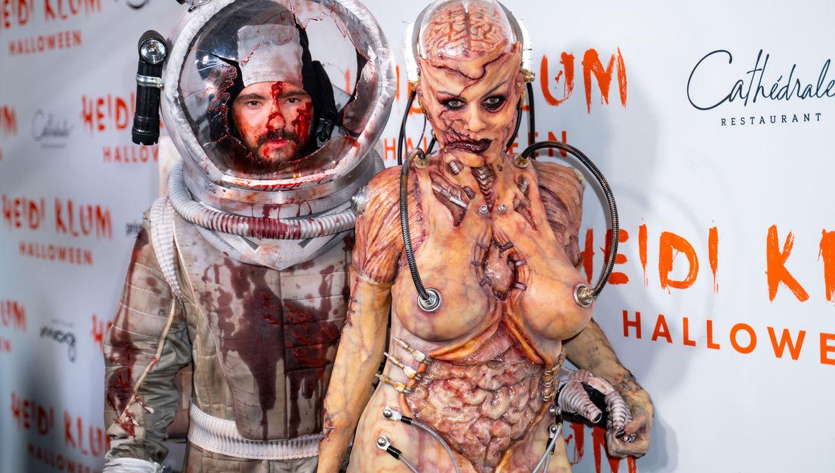 Heidi Klum and Tom Kaulitz Halloween