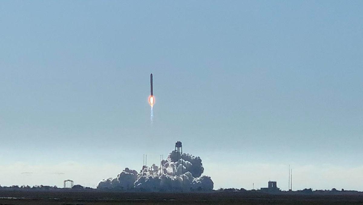 NASA/Northrop Grumman Cygnus cargo mission NG-12
