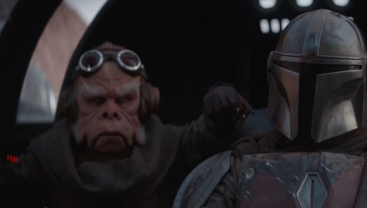 The Mandalorian and Kuiil