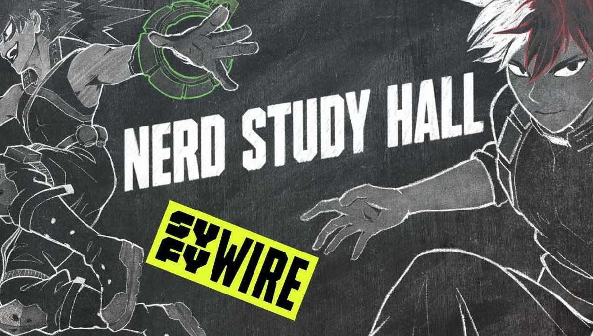 Nerd Study Hall My Hero Academia