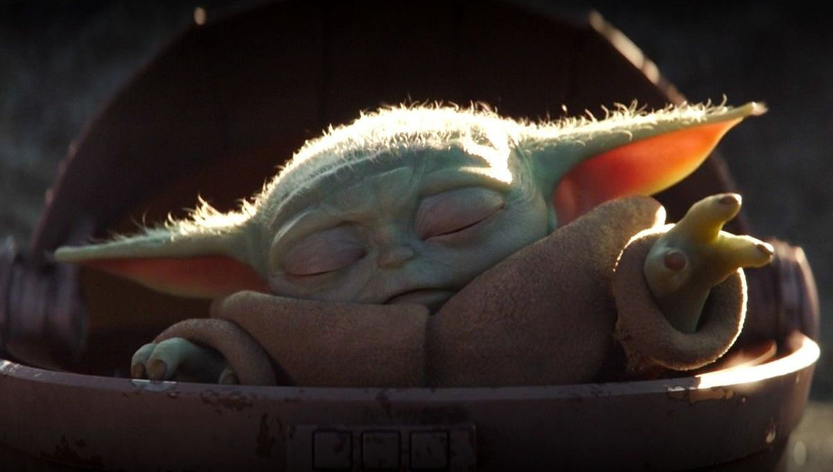 Yoda Baby using the Force