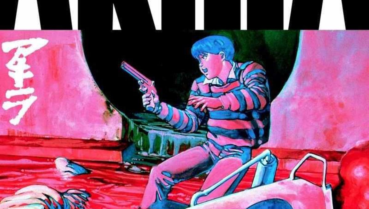 Akira Volume 1 manga cover