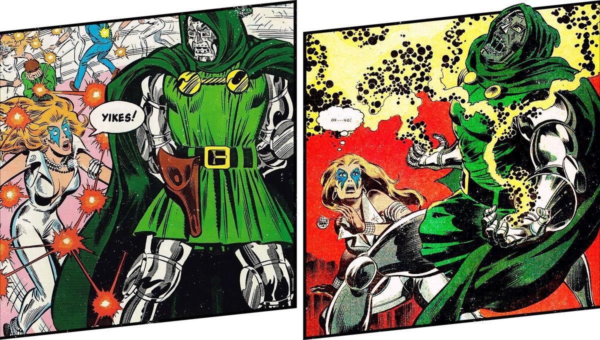 Dazzler takes on Dr. Doom in Dazzler #3