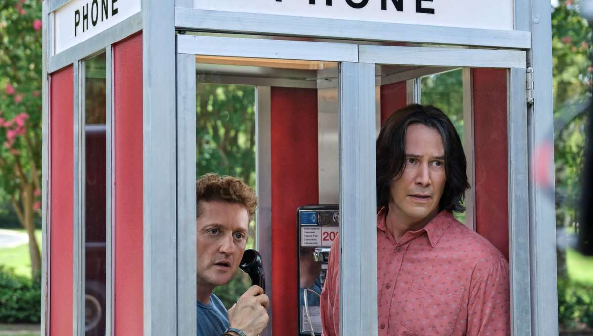 Bill and Ted 3 promo