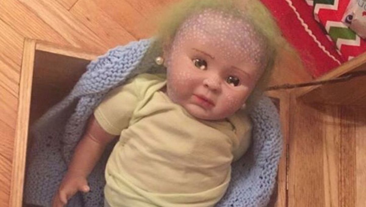 Cocaine-filled mermaid doll