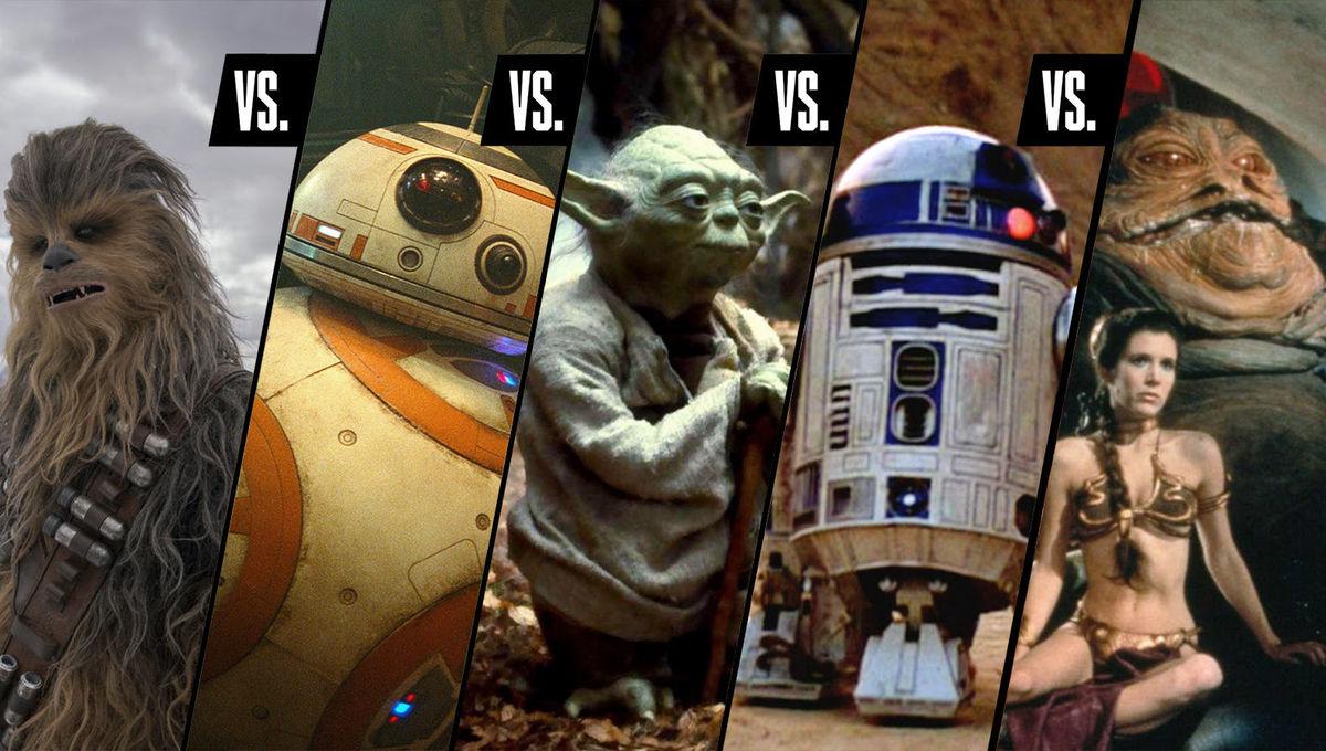 Debate Club Star Wars characters