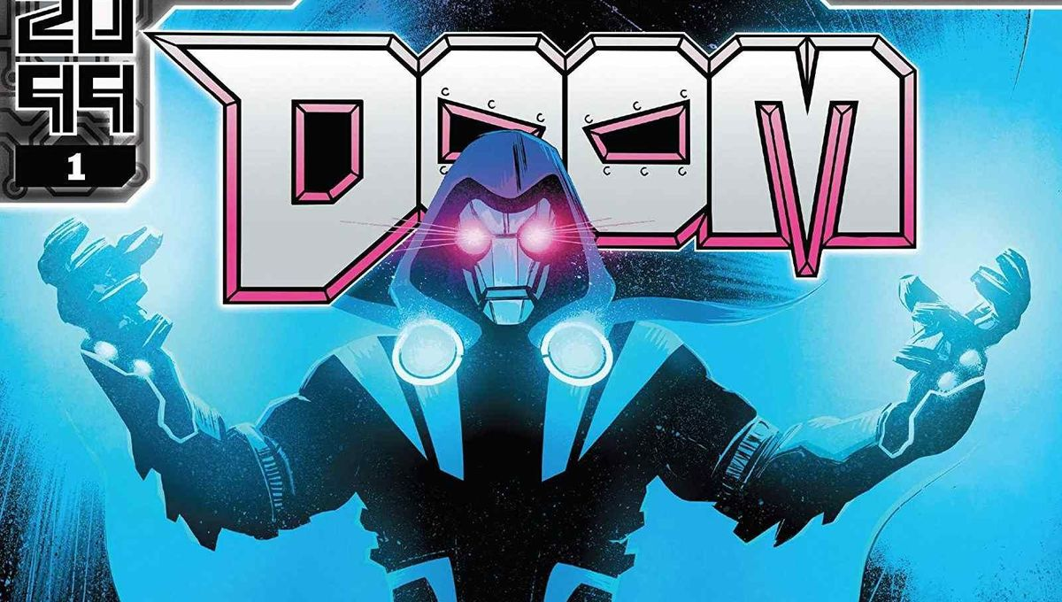 Doom 2099 - (W) Chip Zdarsky (A) Marco Castiello (CA) Tomm Coker. [Credit: Marvel]