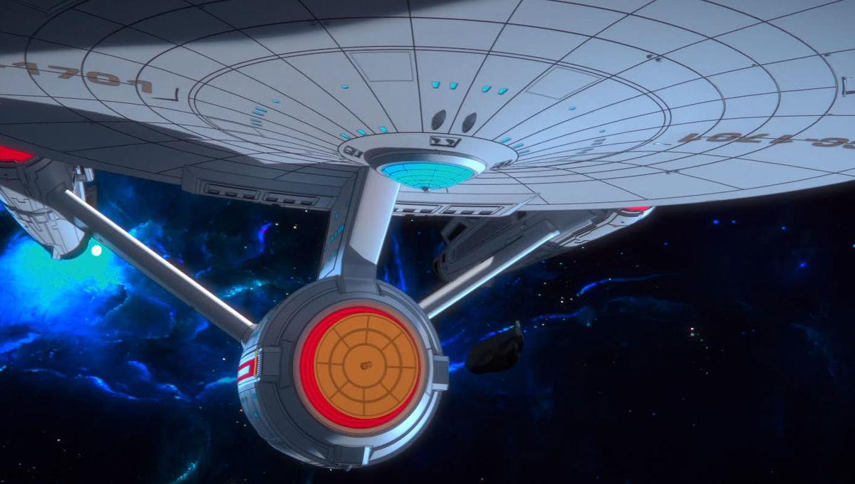 Enterprise animated short treks