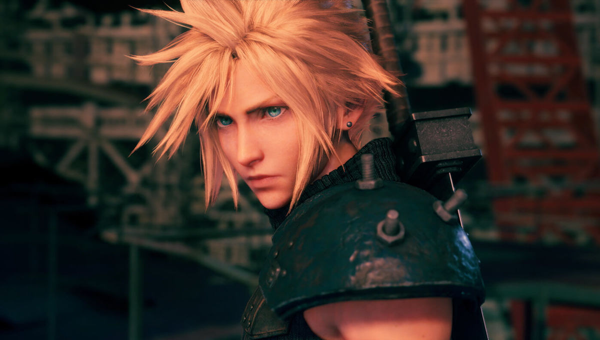 Cloud Strife in Final Fantasy VII Remake