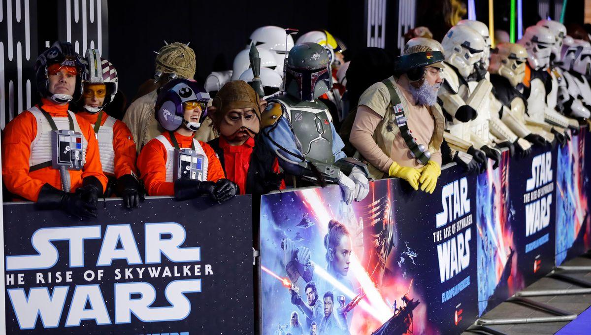 Star Wars Rise of Skywalker fans