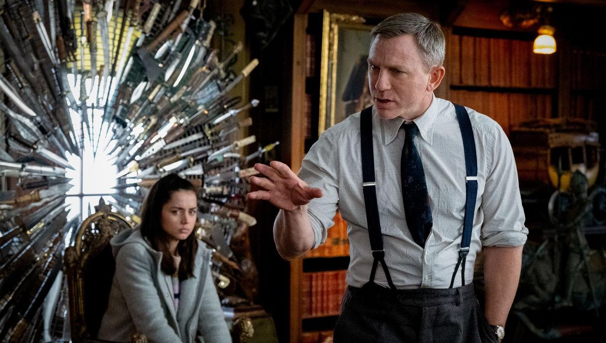 Knives Out Daniel Craig Ana de Almas