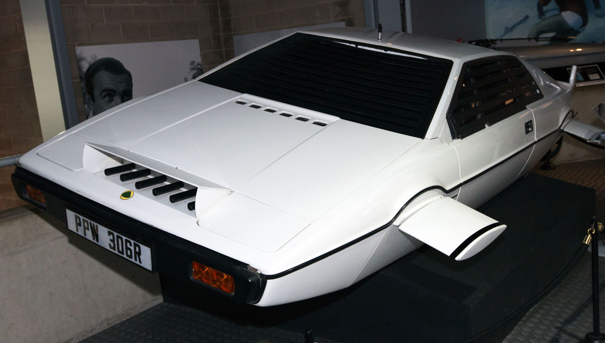James Bond's Lotus Esprit submarine from The Spy Who Loved Me