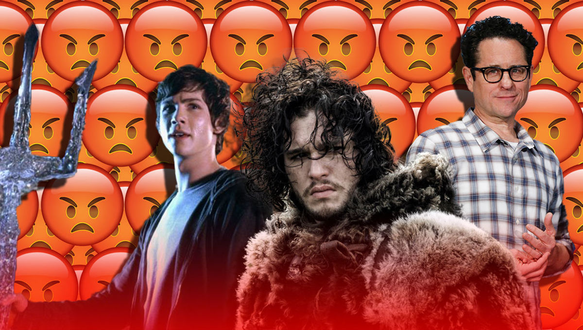 Percy Jackson, Game of Thrones, J.J. Abrams