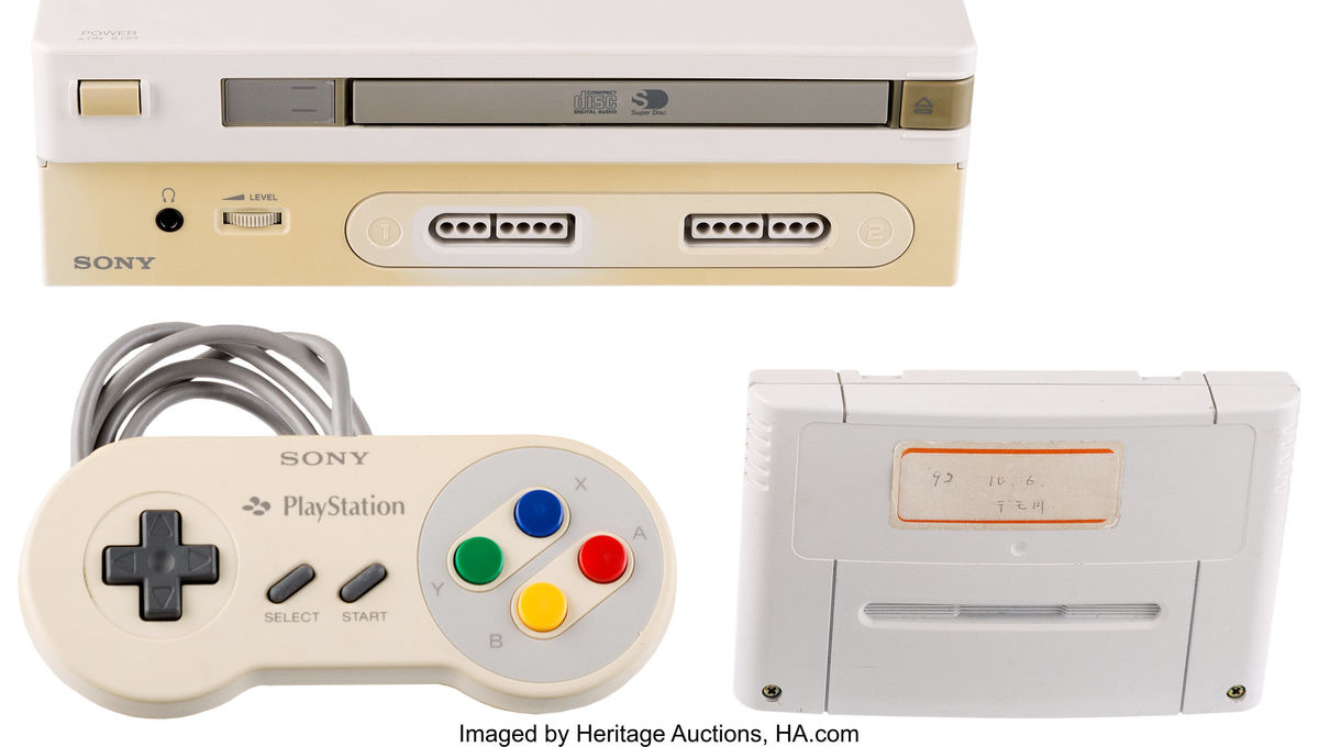 Rare Nintendo Play Station 1990s console