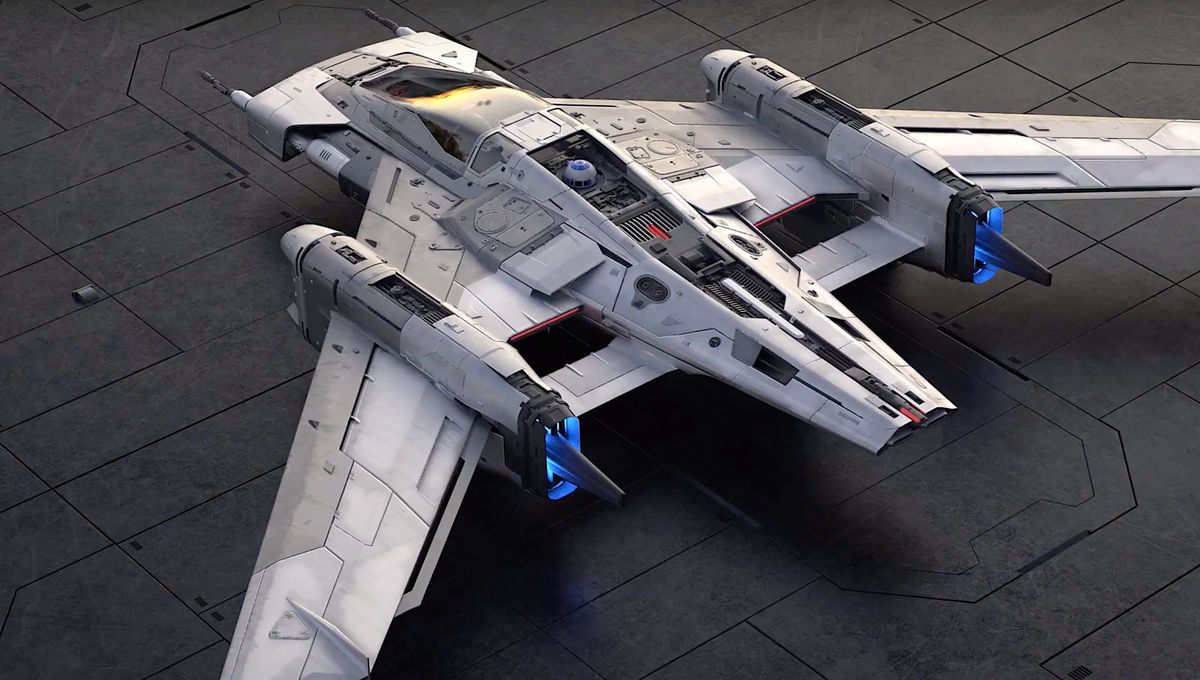 Pegasus Star Wars fighter designed by Porsche and Lucasfilm