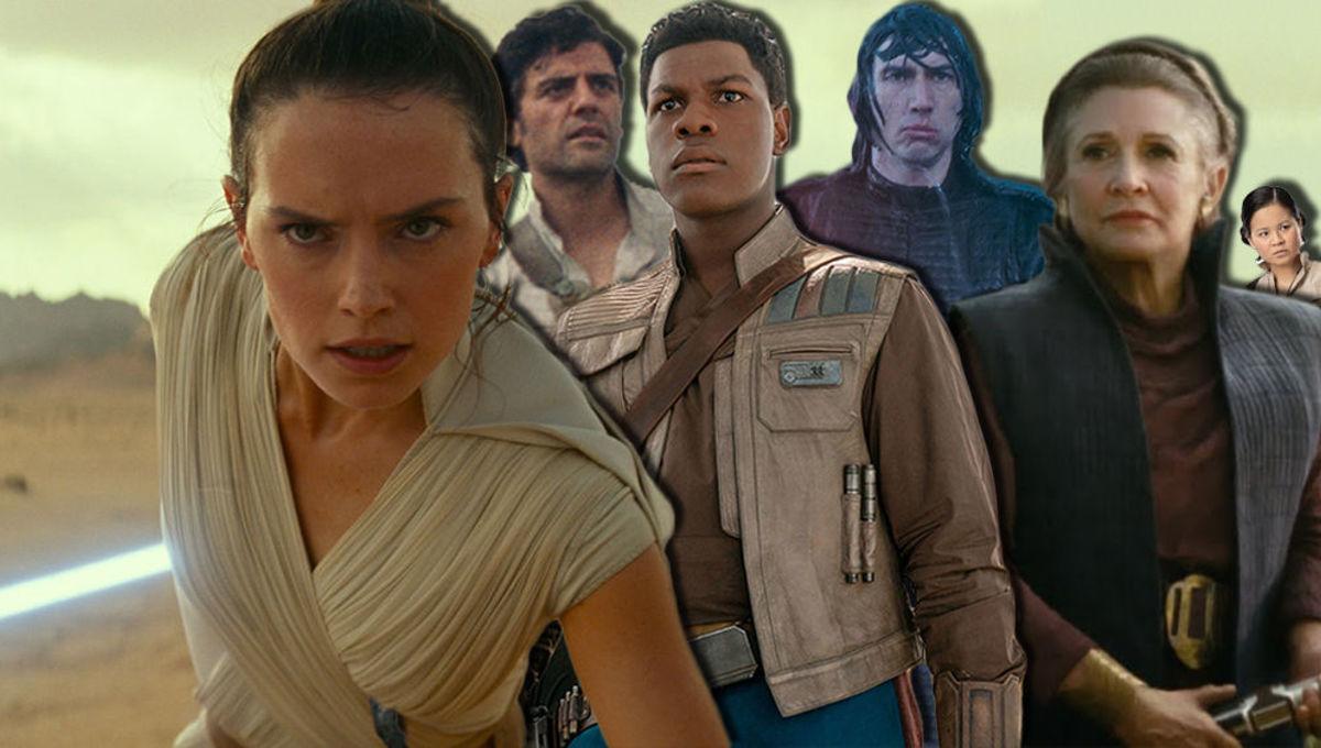Star Wars: Rise of Skywalker endings