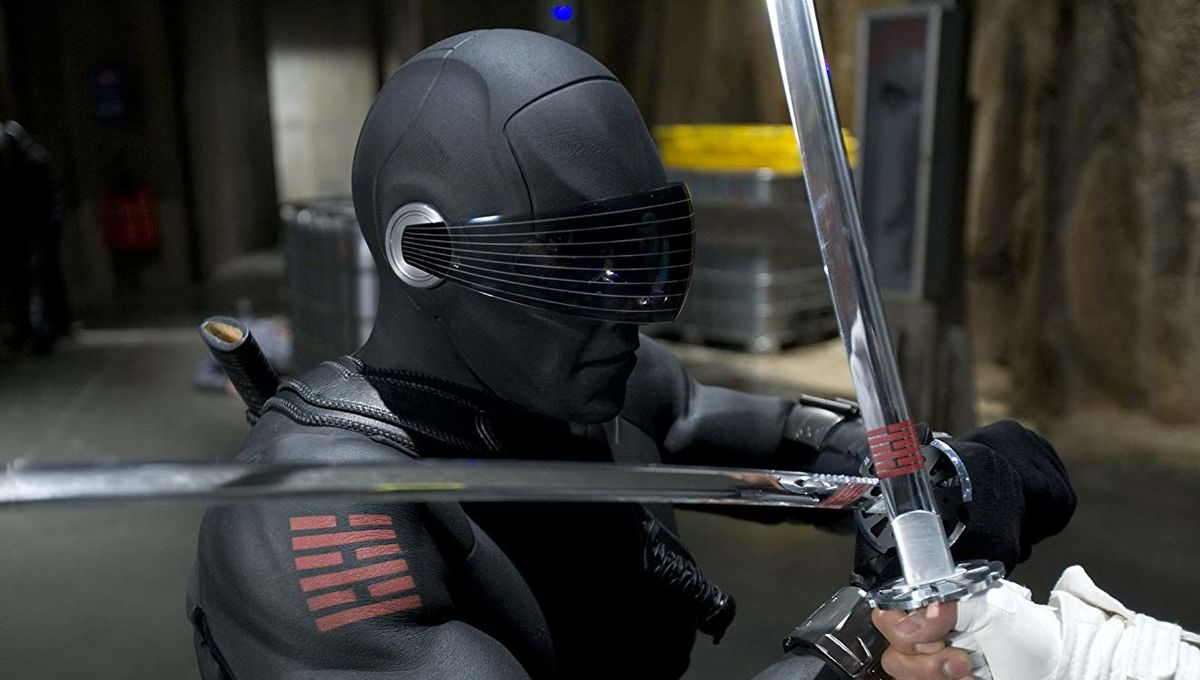 Snake Eyes GI Joe Rise of Cobra