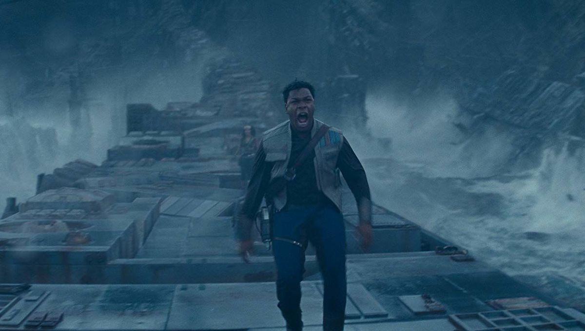 Star Wars The Rise of Skywalker Finn yelling