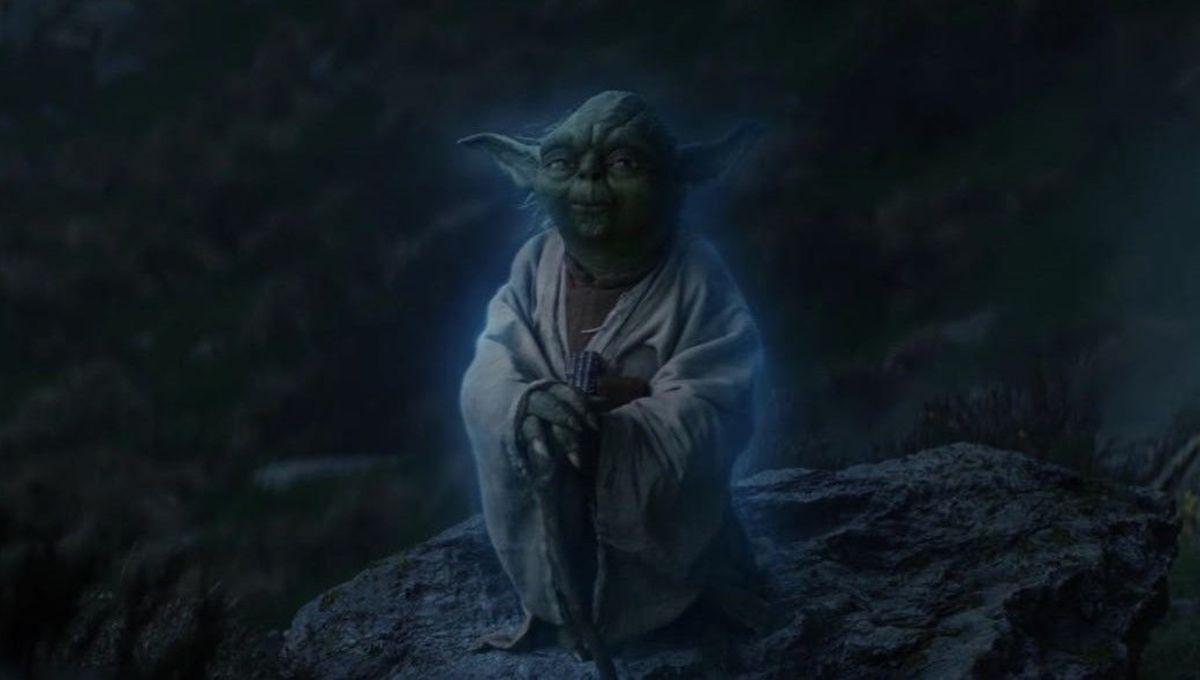 The Last Jedi Yoda Returns