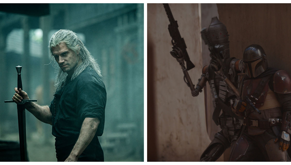 The Witcher and The Mandalorian