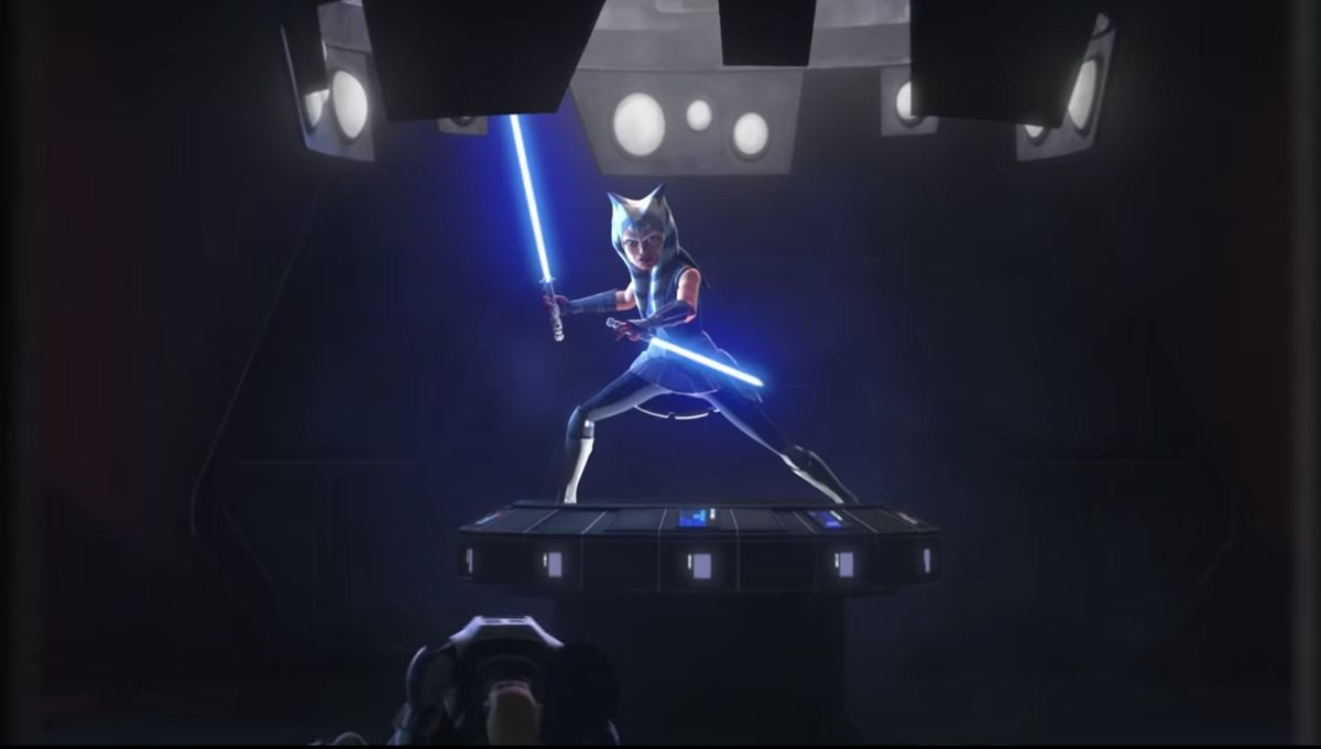 Ahsoka in Star Wars The Clone Wars
