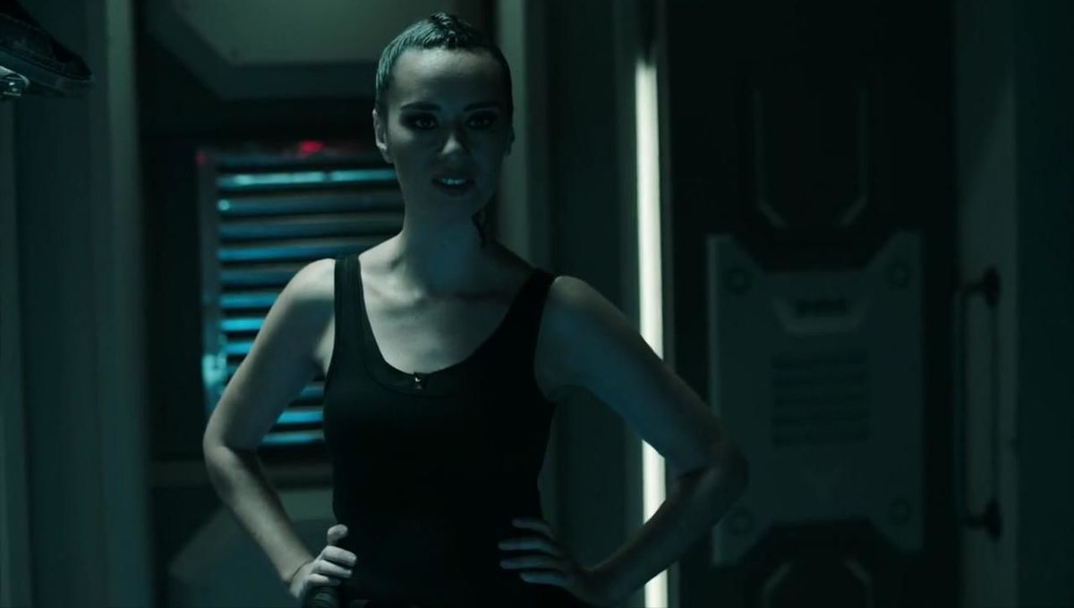 Cara Gee in The Expanse 401