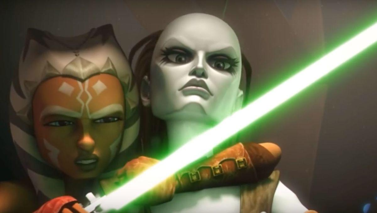 Star Wars: The Clone Wars (Ahsoka and Aurra Sing)