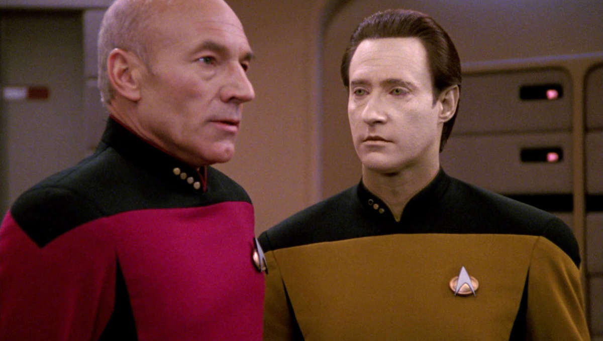 "Star Trek TNG Season 4, Episode 14, ""Clues"""