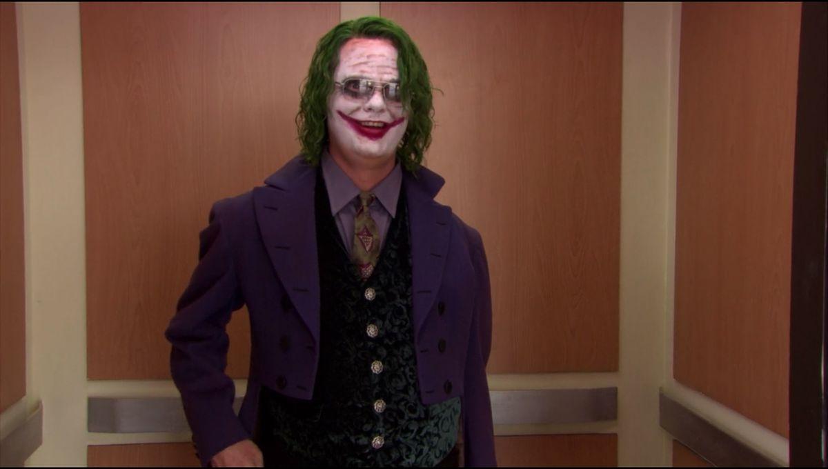 Dwight the Joker the Office