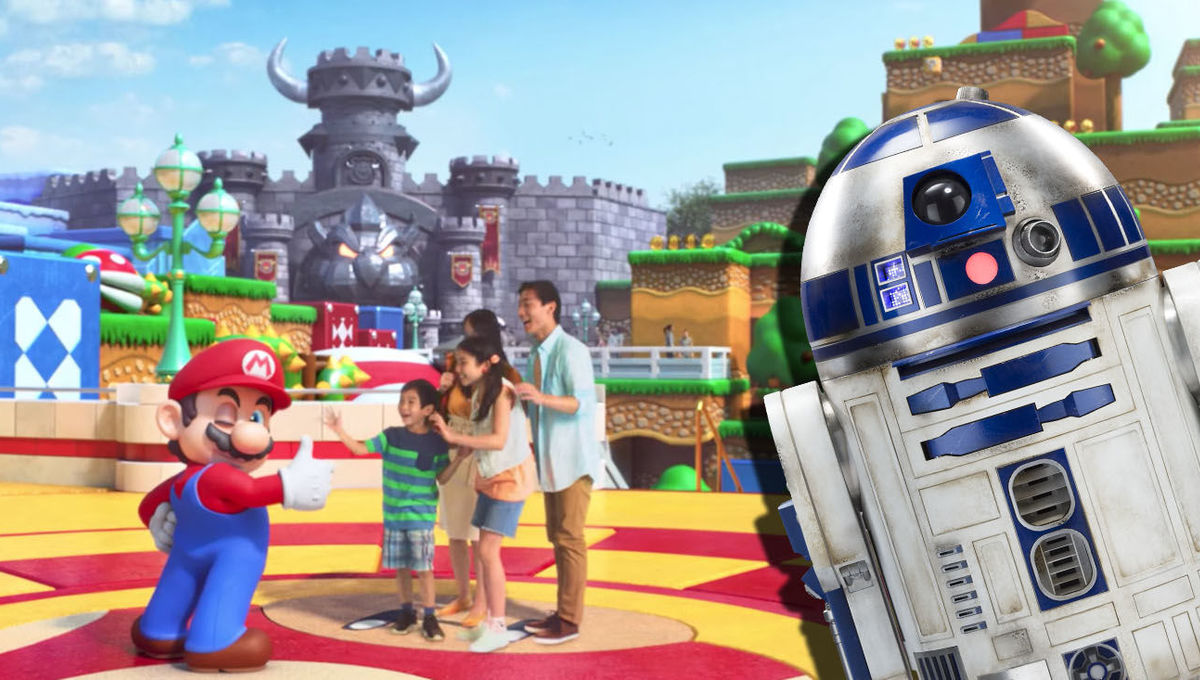 mario theme park r2d2