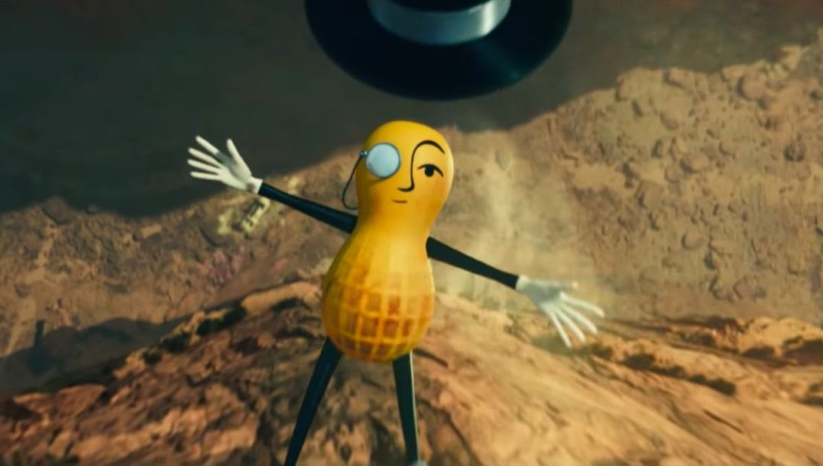 Mr. Peanut Super Bowl