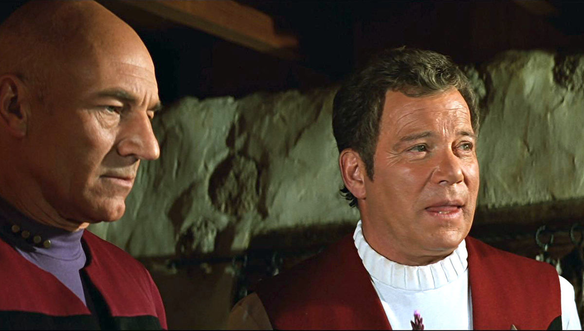 Picard kirk generations crossover
