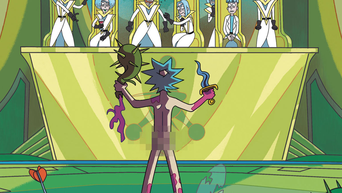 Rick and Morty: Council of Ricks Hero