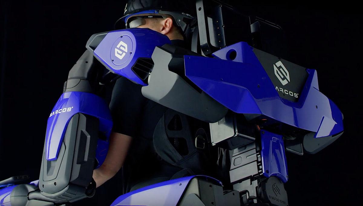 The Sarcos Guardian XO exoskeleton