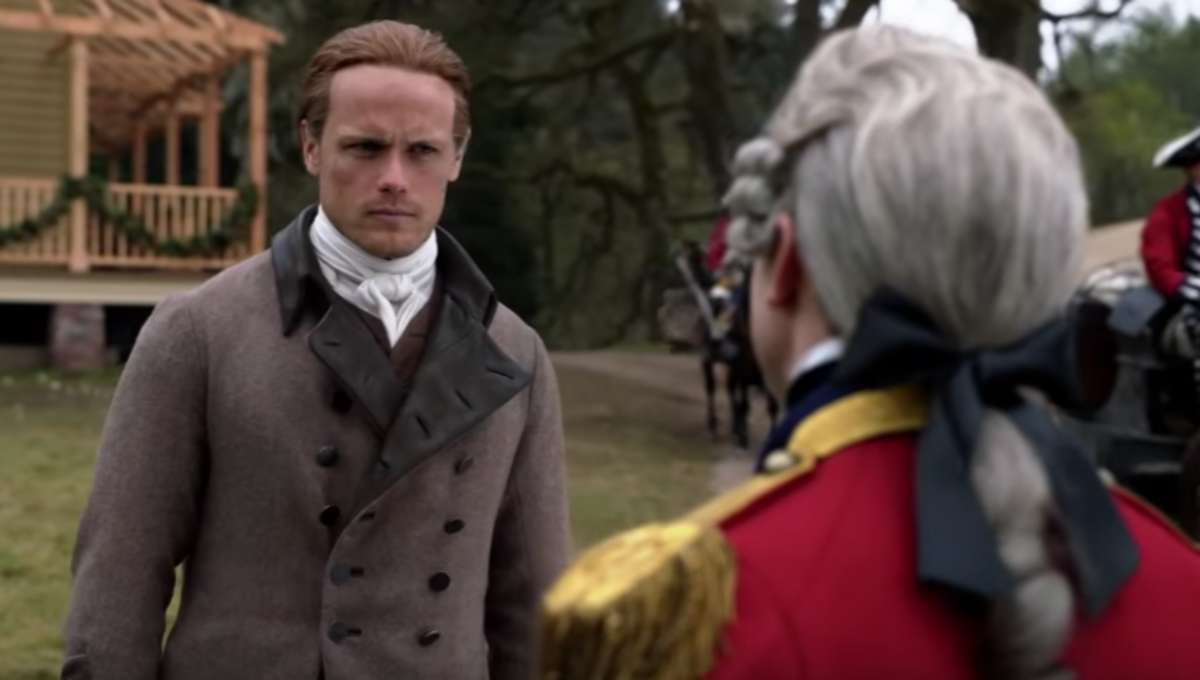 Outlander season five screenshot